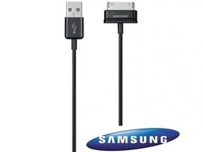 ОРИГИНАЛЕН USB DATA КАБЕЛ ЗА SAMSUNG P1000 ECC1DP0UB - Black