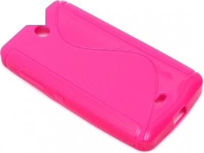 СИЛИКОНОВ ПРОТЕКТОР ЗА MICROSOFT LUMIA 430 / Dual SIM RM-1066 RM-1067 RM-1099 - Pink