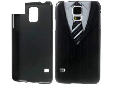 PVC ПРОТЕКТОР ЗА SAMSUNG GALAXY S5 2015 / S5 Neo SM-G900F - Suit & Tie