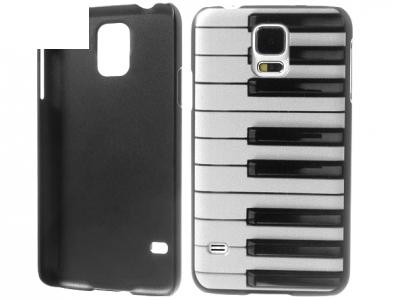 PVC ПРОТЕКТОР ЗА SAMSUNG GALAXY S5 2015 / S5 Neo SM-G900F - Piano Keys