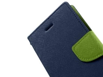 КАЛЪФ ТЕФТЕР Telone Fancy Case ЗА LENOVO VIBE SHOT / MAX z90-7 - Dark Blue / Green