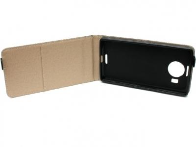 КАЛЪФ ТЕФТЕР ЗА MICROSOFT LUMIA 950 XL / Dual SIM RM-1116 - Black Pearl