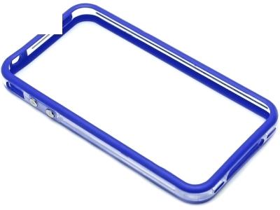 СТРАНИЧЕН ПРОТЕКТОР ЗА iPhone 4G / 4GS Bumper - Ultramarine