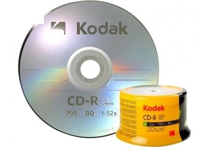 CD-R 80/700MB 52X KODAK / 1 бр.