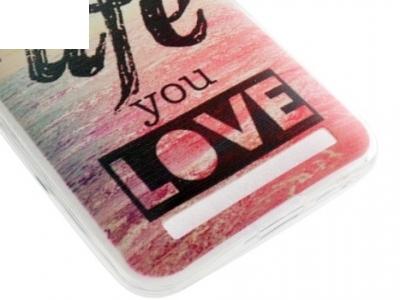 СИЛИКОНОВ ПРОТЕКТОР 0.6ММ ЗА ASUS ZENFONE 2 LASER ZE550KL ZE551KL - Live the Life You Love