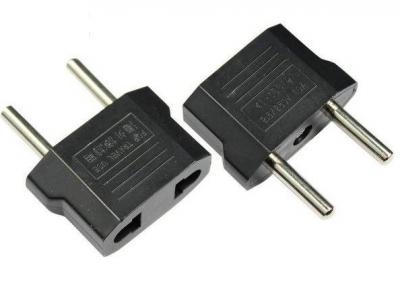 ПРЕХОДНИК 220V US UK to EU 2-pin - Black
