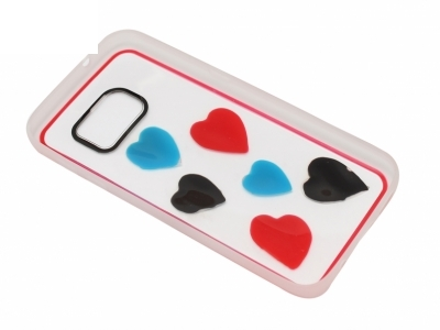 Калъф Гръб Силикон - D5 Samsung Galaxy S7 2016 G930 Сърце