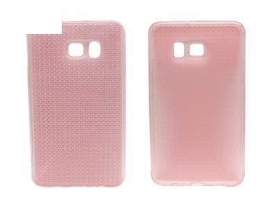 Калъф гръб Силикон - T63 Samsung Galaxy S6 EDGE Plus 2015 G928 Розов