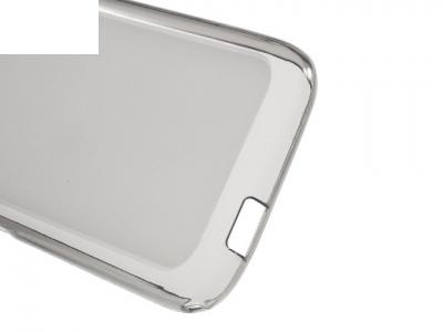 Ултра тънък силиконов протектор за Alcatel OneTouch Pixi 4 (3.5) - Сив