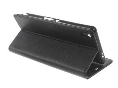 Калъф-тефтер, трансформиращ се в стойка за Sony Xperia XA Ultra - Черен