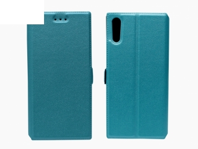 Тефтер странично отваряне - Telone BOOK POCKET Sony Xperia XZ - Син