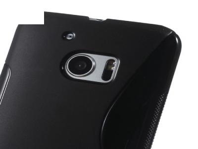 Силиконов калъф за HTC 10 / 10 Lifestyle - Black