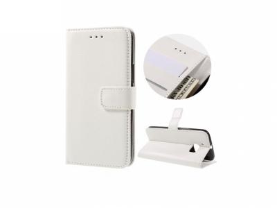 Калъф тефтер за HTC 10 / 10 Lifestyle - White