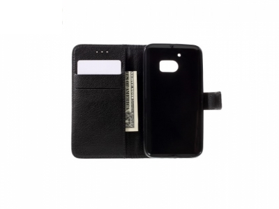 Калъф тефтер за HTC 10 / 10 Lifestyle - Black