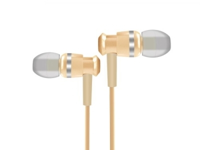 JOYROOM EL122 метални слушалки с микрофон- Gold