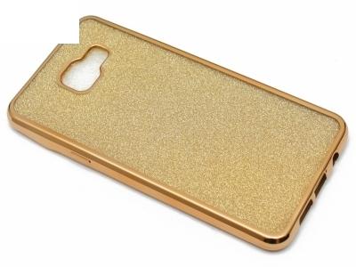 Силиконов Гръб с Брокат Samsung Galaxy A5 A510 (2016) - Elektro Gold