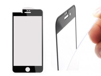 Стъклен 3D протектор 0.3mm AMORUS Curved за iPhone 7 / 8/ iPhone SE 2020 , Черен