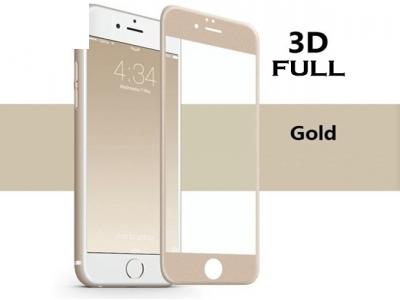 Стъклен протектор 3D Full - IPhone 7 / 8/ iPhone SE 2020, Златист