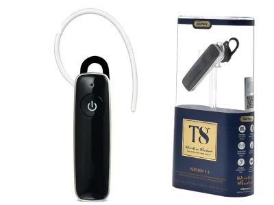 Безжична bluetooth слушалка REMAX RB-T8 (multipoint), Черна