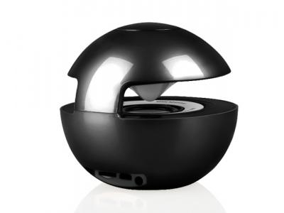 Bluethooth Speaker LED BALL - Black