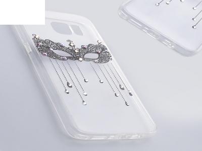 Силиконов гръб VENNUS за Samsung Galaxy S7 Edge 2016 (G935 ), Черен