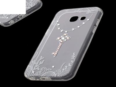 Силиконов Калъф - VENNUS Art -Samsung Galaxy A3 (2017 ) Design 3 White