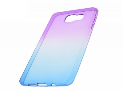 Силиконов гръб OMBRE за Samsung Galaxy A5 2016 A510, Лилав/ Син