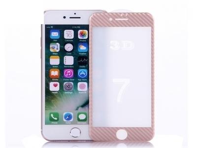 Стъклен протектор 3D Soft Edge Full  Protector for iPhone 7/ 8/ iPhone SE 2020 , Розово Златист