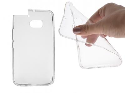 Силикон Ултра Слим - HTC 10 Lifestyle Transparent Relef