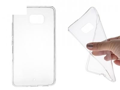 Силикон Ултра Слим - HTC U PLAY ULTRA Transparent Relef