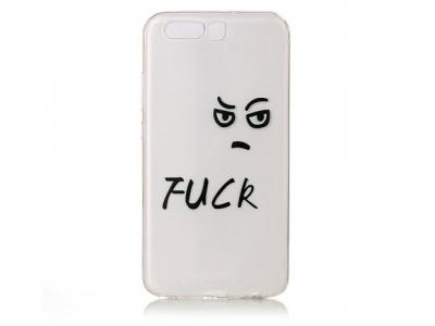 Калъф гръб силикон Huawei P10 - Angry Expression