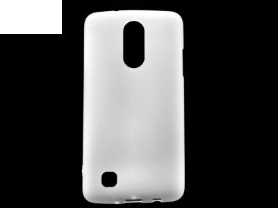 Силиконов матиран гръб за  LG K4 2017, Прозрачен