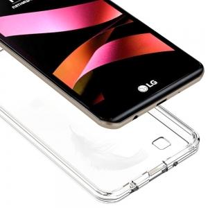 Силиконов Ултра тънък гръб за LG X STYLE Прозрачен