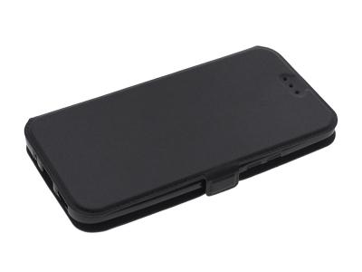 Тефтер странично отваряне за HTC M10 Черен