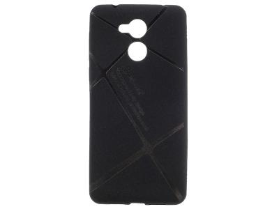Силиконов гръб BOSILANG за Huawei Nova Smart/Honor 6c/Enjoy 6s Черен
