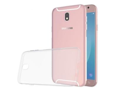 Силикон Ултра Слим 0.5mm - Samsung Galaxy J7 2017 J730, Прозрачен