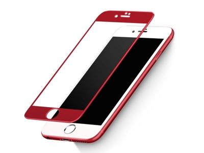 Стъклен протектор Joyroom 0.15mm 3D Nano Curved за IPhone 7/ 8/ iPhone SE 2020, Червен