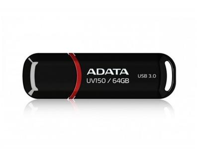 64 GB USB 3.0 UV150 ADATA, Черна