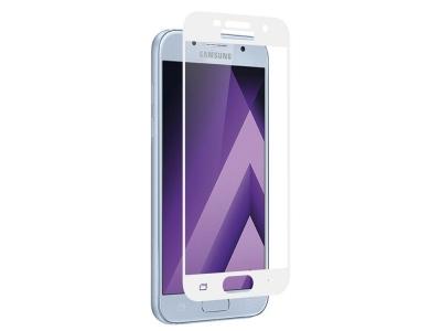 Стъклен протектор Full Samsung Galaxy A5 2017 A520, Бял