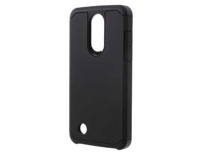 Хибриден гръб за LG K8 2017 M200N, Черен