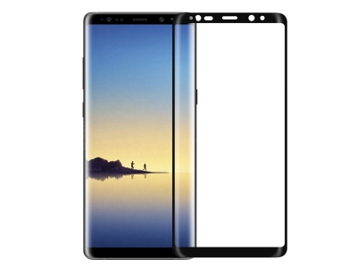 Стъклен Протектор NILLKIN 3D CP+MAX за Samsung Galaxy S8 2017 (G950), Черен