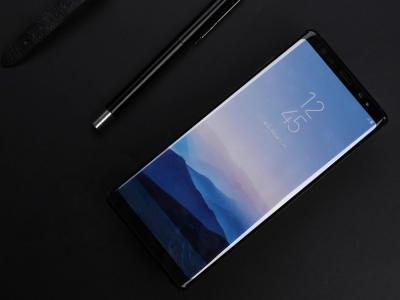Стъклен Протектор NILLKIN 3D CP+MAX за Samsung Galaxy Note 8 2017, Черен