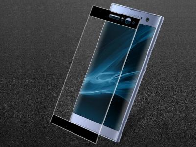 Стъклен Протектор IMAK Full за Sony Xperia XA2, Черен