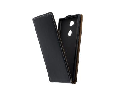 Калъф тефтер Slim Flexy за Sony Xperia L2, Черен