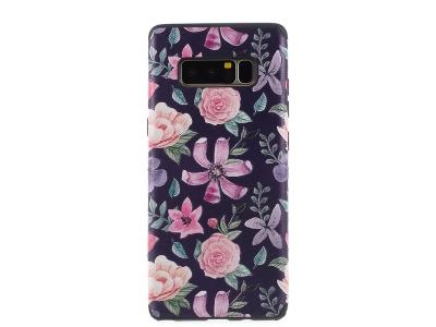 Силиконов Гръб  Pattern за Samsung Galaxy Note 8 2017 N950 , Цветя
