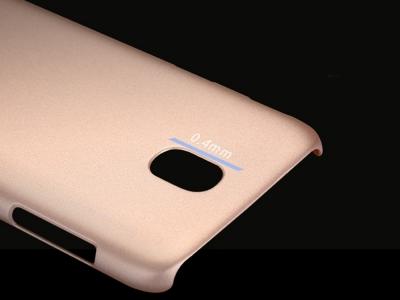 Пластмасов гръб X-LEVEL за Samsung Galaxy J5 2017 J530, Златист
