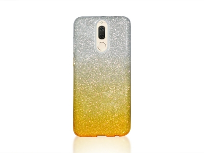 Силиконов Гръб BLING за Huawei Mate 10 Lite, Златист