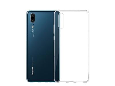 Силиконов гръб 0.5mm за Huawei P20 , Прозрачен