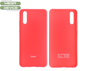 Силиконов гръб Roar за Huawei P20, Розов