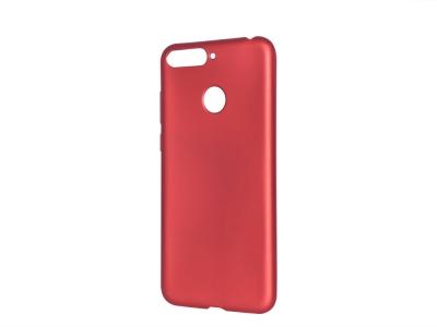 Силиконов Гръб Jelly Case за Huawei Y6 2018, Червен